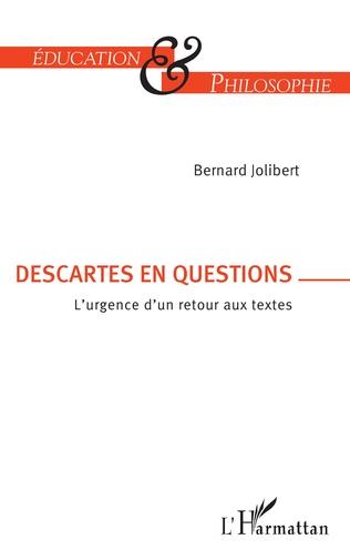 Couverture Descartes en question