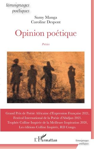 Couverture Opinion poétique