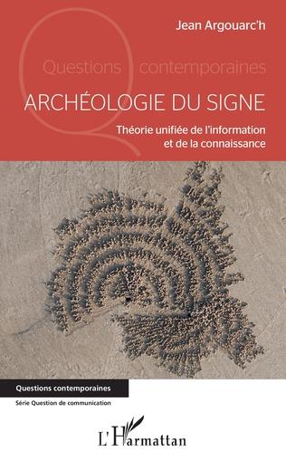 Couverture Archéologie du signe