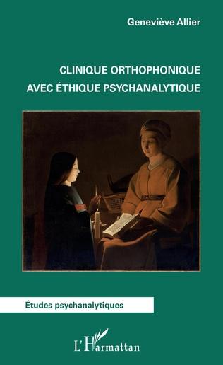 Couverture Clinique orthophonique avec éthique psychanalytique