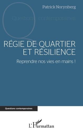 Couverture Régie de quartier et résilience