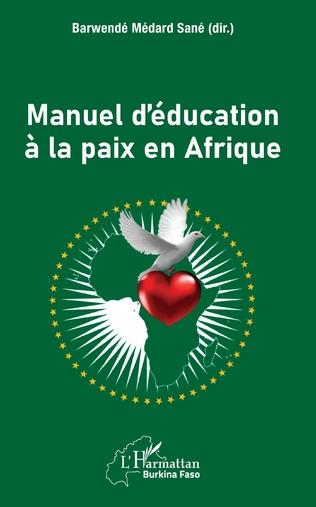 Couverture Manuel d'éducation à la paix en Afrique