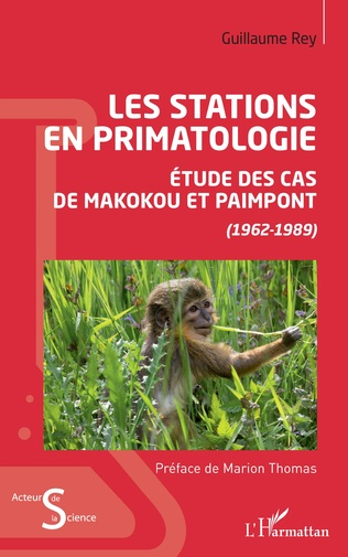 Couverture Les stations en primatologie
