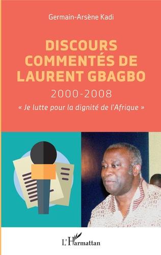 Couverture Discours commentés de Laurent Gbagbo 2000-2008
