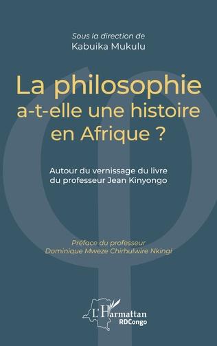Couverture La philosophie a-t-elle une histoire en Afrique ?