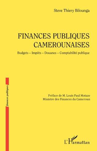 Couverture Finances publiques camerounaises