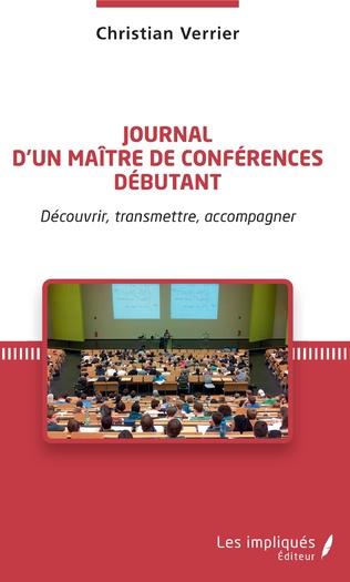 Couverture Journal d'un maître de conférences débutant