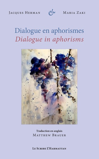 Couverture Dialogue en aphorismes