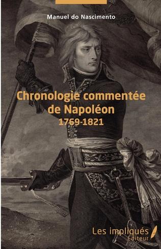 Couverture Chronologie commentée de Napoléon