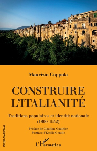 Couverture Construire l'italianité
