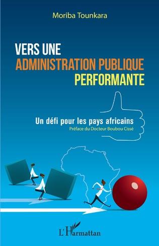 Couverture Vers une administration publique performante