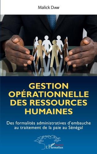 Couverture Gestion opérationnelle  des ressources humaines