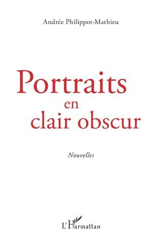 Couverture Portraits en clair obscur