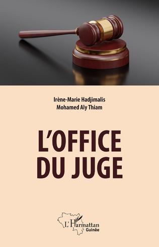 Couverture L'office du juge