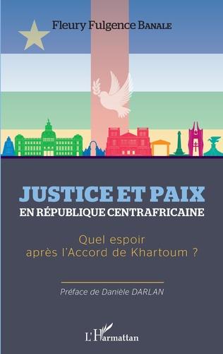 Couverture Justice et paix en République centrafricaine