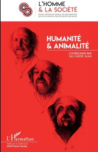 Couverture Humanité et animalité