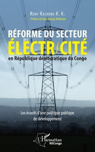 Couverture Réforme du secteur de l'électricité en République démocratique du Congo