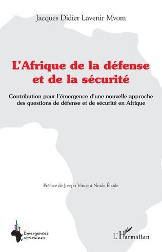 Couverture L'Afrique de la défense et de la sécurité