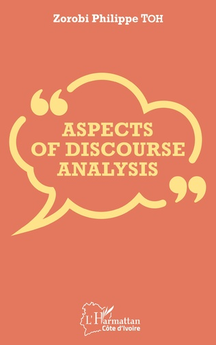 Couverture Aspects of discourse analysis