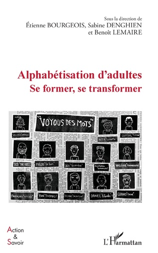 Couverture Alphabétisation d'adultes