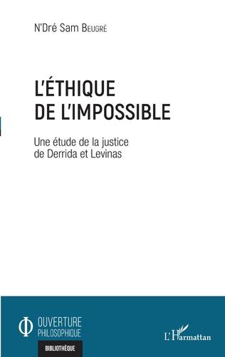 Couverture L'éthique de l'impossible