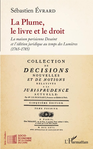 Couverture La Plume, le livre et le droit