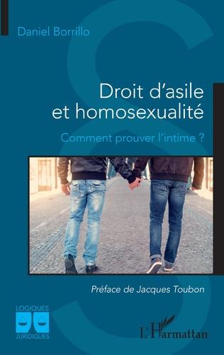 Couverture Droit d'asile et homosexualité