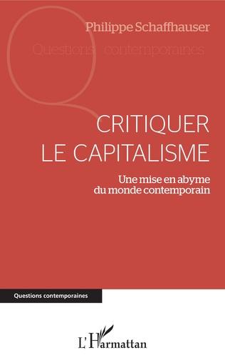 Couverture Critiquer le capitalisme