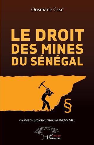 Couverture Le droit des mines au Sénégal