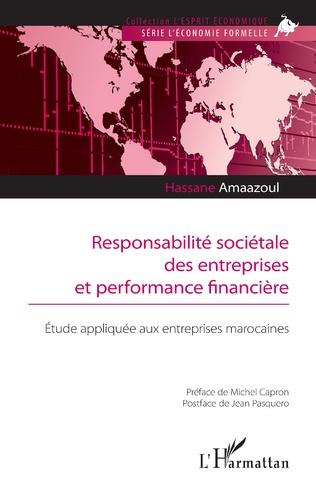 Couverture Responsabilité sociétale des entreprises et performance financière