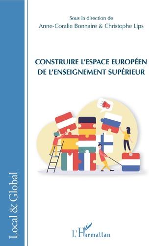 Couverture Construire l'espace européen de l'enseignement supérieur