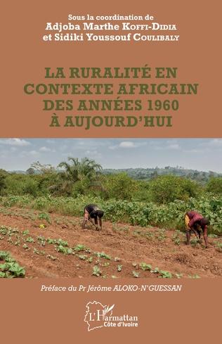 Couverture La ruralité en contexte africain des années 1960 à aujourd'hui