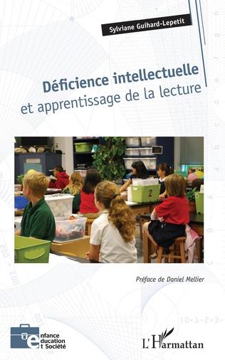 Couverture Déficience intellectuelle et apprentissage de la lecture