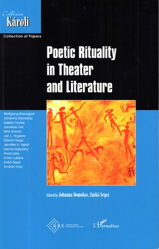 Couverture Poetic Rituality in Theater and Literature