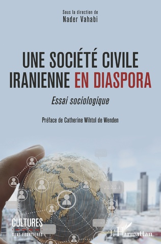 Couverture Une société civile iranienne en diaspora