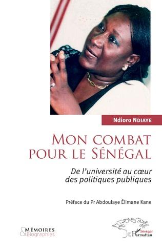 Couverture Mon combat pour le Sénégal