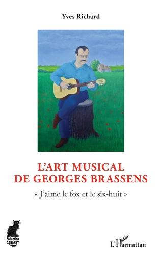 Couverture L'art musical de Georges Brassens