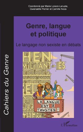Couverture Genre, langue et politique