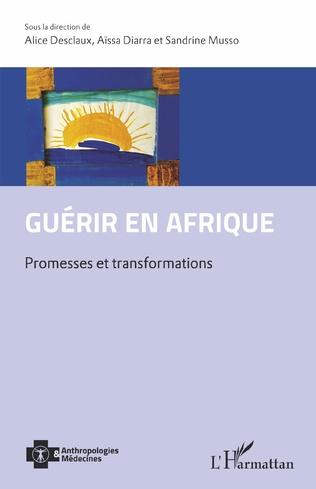 Couverture Guérir en Afrique