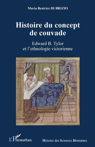 Couverture Histoire du concept de couvade
