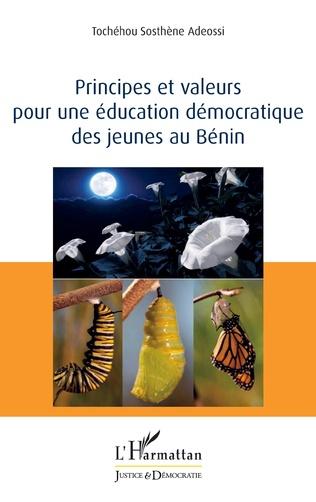 Couverture Principes et valeurs pour une éducation démocratique des jeunes au Bénin