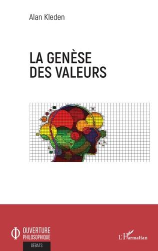 Couverture La genèse des valeurs