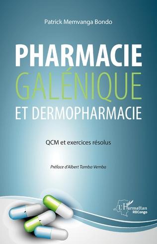 Couverture Pharmacie galénique et dermopharmacie