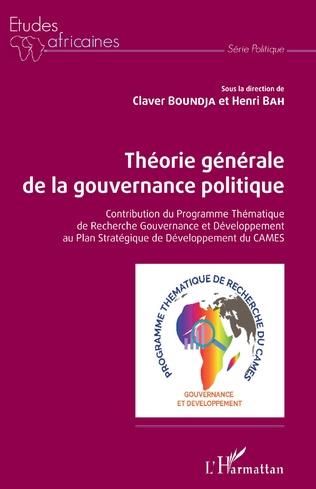 Couverture Théorie générale de la gouvernance politique