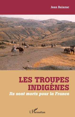 Couverture Les troupes indigènes