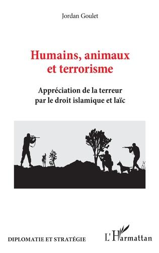 Couverture Humains, animaux et terrorisme