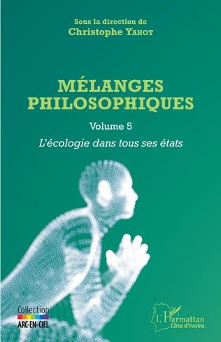 Couverture Mélanges philosophiques Volume 5