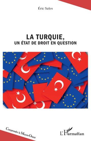 Couverture La Turquie, un État de droit en question