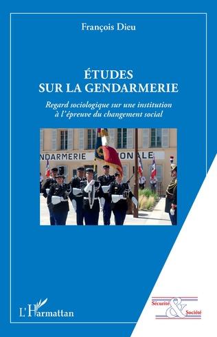 Couverture Etudes sur la gendarmerie