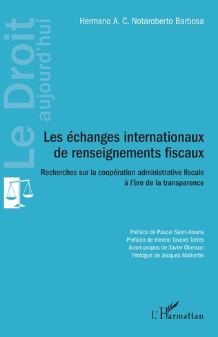 Couverture Les échanges internationaux de renseignements fiscaux